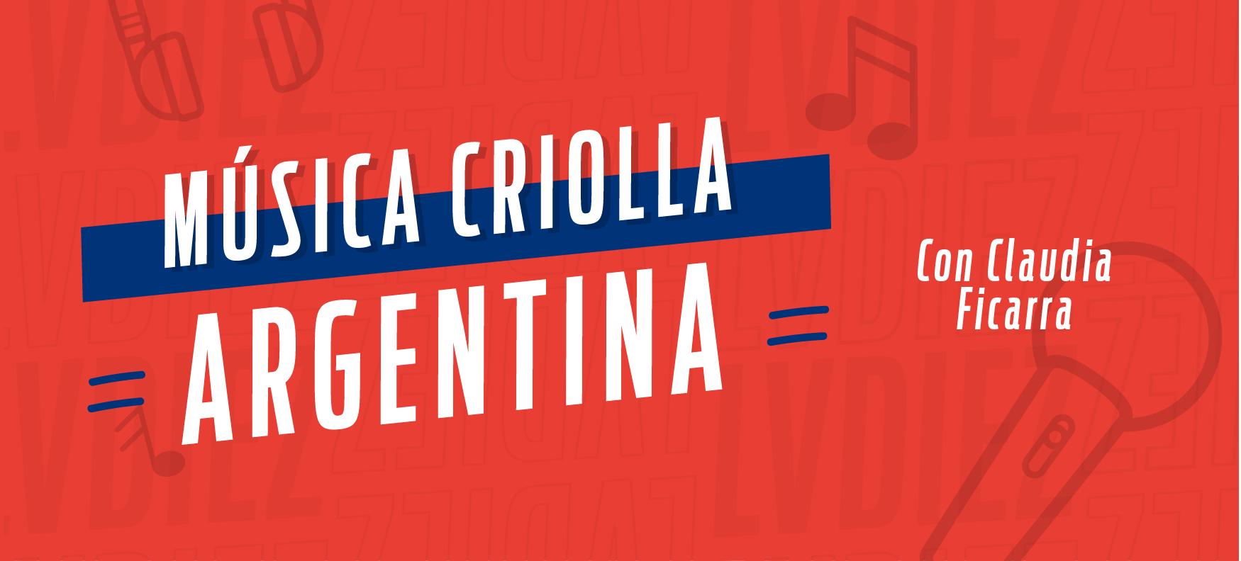 Música Criolla Argentina